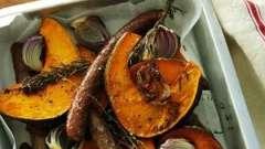Смажена гарбуз: рецепт смачних страв