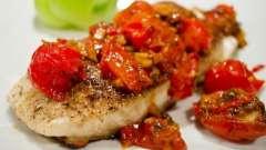 Смажений палтус: рецепт приготування риби
