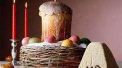 Значення свята паски. Християнське свято паска: історія і традиції
